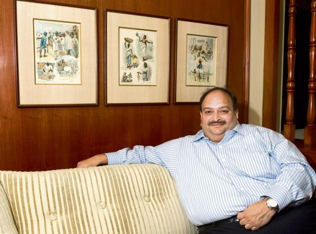 A file photo of Mehul Choksi. The ED charge sheet alleges that some of the funds obtained through the LoUs and FLCs were laundered and diverted through overseas companies. Photo: Priyanka Parashar/Mint