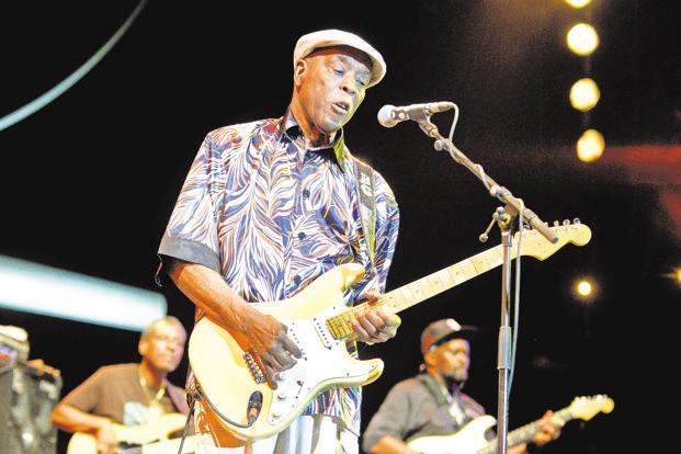 Buddy Guy: Alive and well and still got the blues