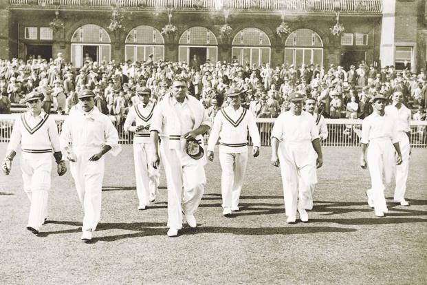 During India's 1936 tour, the second Test at Old Trafford did not begin well for the visitors. Photo: Getty Images