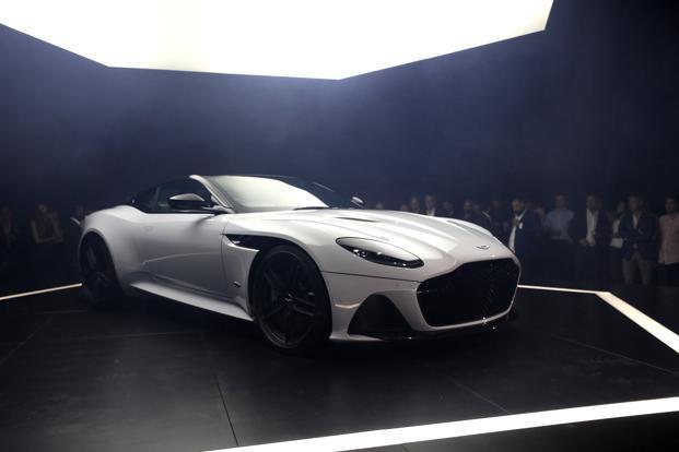 Aston Martin Debuts An Allnew DBS Superleggera Coupe Livemint - Aston martin two door
