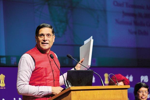 Recently, CEC Arvind Subramanian had announced that he has decided to quit the job, with close to a year of his tenure remaining, and return to the US for 'very compelling reasons'. Photo: Pradeep Gaur/Mint