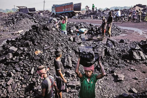 The shortfall in coal production has come at a time when some regions, including New Delhi, are facing power shortage due to fast depleting coal stockpiles at thermal power plants. Photo: Bloomberg