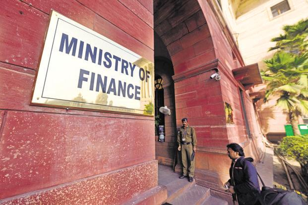 The ministry of finance in the North Block. Photo: Pradeep Gaur/Mint