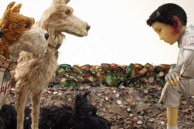 A still of 'Isle of Dogs'.