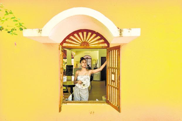 Carol Gracias at her guest house Botanique. Photo: Aniruddha Chowdhury/Mint