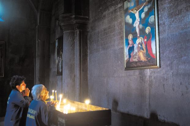 Inside an Armenian church. Photo: Sugato Mukherjee