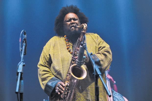Kamasi Washington performing in London in May. Photo: Getty Images