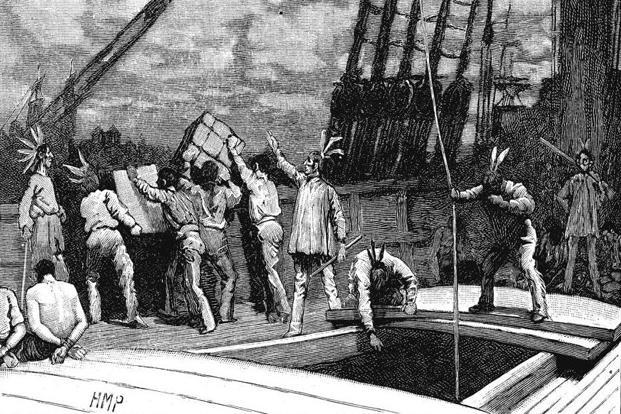 Boston Tea Party, 1773, was a historic trade war in which a British tax on tea led to an unstoppable retaliatory action. Photo: AFP