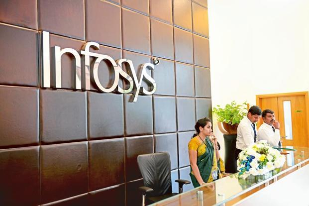 Infosys Q1 margin is expected to decline quarter-on-quarter on account of wage hikes, higher visa costs, says analysts. Photo: Mint