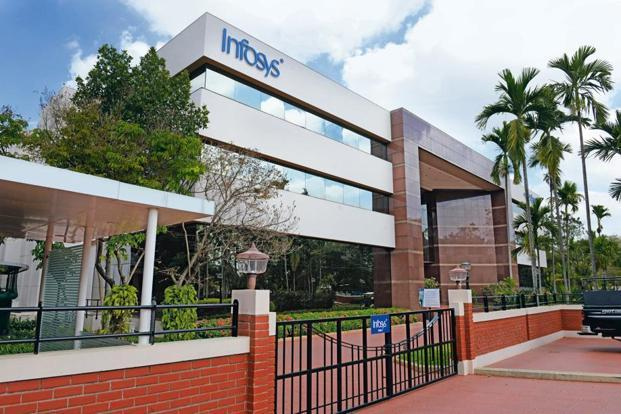 Infosys revenues grew by only 6% year-on-year in constant currency terms last quarter, lower than the 6.4% growth reported in the March quarter. Photo: Mint