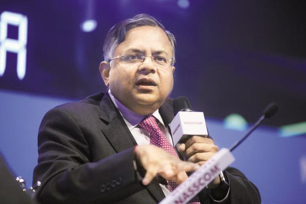 Tata Motors chairman Chandrasekaran believes China, India 'offer high growth opportunities led by GDP growth, strong domestic consumption and favourable demographic support' for JLR. Photo: Mint