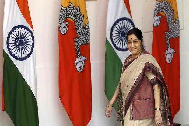 External affairs minister Sushma Swaraj. Titled Delhi Dialogue 10, the 19-20 July event will also see experts from India and South-East Asia deliberate on a series of themes.