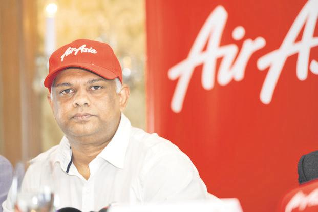 AirAsia CEO Tony Fernandes. His airline is weighing an order for 100 A321neo aircraft and 34 more A330 widebodies. Photo: S. Kumar/Mint