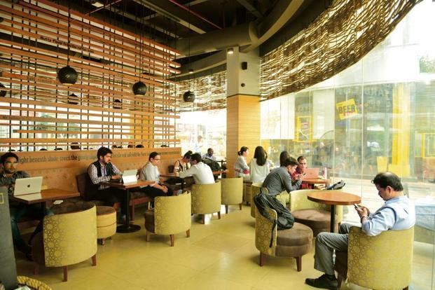 Increased start-up activity in Gurgaon has paved the way for co-working spaces in the city. Photo: Ramesh Pathania/Mint