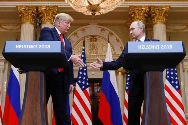 Lawmakers from both major political parties derided Trump's remarks, saying the US president appeared weak in front of Putin. Photo: AP