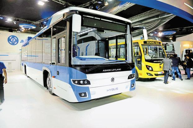 Ashok Leyland said revenue from operations during the period under review was at Rs6,250.12 crore. Photo: Pradeep Gaur/Mint
