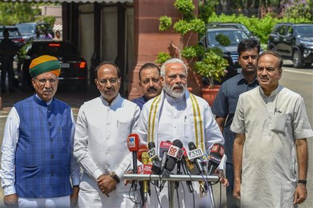 Image result for Modi Government ready to face first No Trust Motion tomorrow