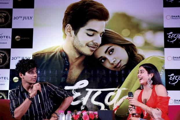 Dhadak collects Rs 8.71 crores first day, highest opening for newcomers!