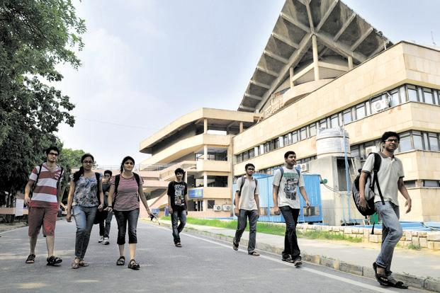 IIT Delhi campus. Photo: HT
