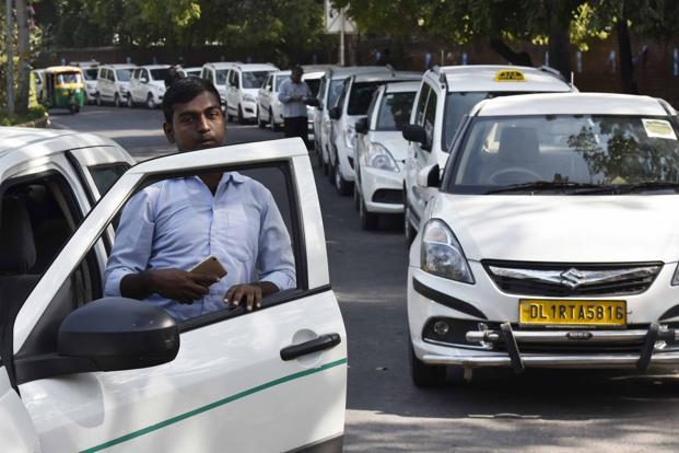 Since cab aggregators like Ola, Uber use technology as a platform to reach out customers, Motor Vehicles Bill also ensures that every such aggregator shall comply with the provisions of the Information Technology Act, 2000. Photo: HT