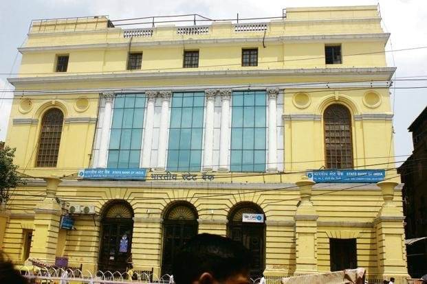 A file photo of SBI building in Chandni Chowk. As functionality overrides form and cost control becomes the mantra, the glorious days of banks scaling new architectural standards are over.