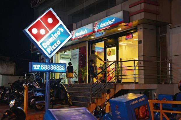 Same-store sales at Jubilant-operated Domino's Pizza outlets came in at 25.9% in the quarter. Photo: Mint