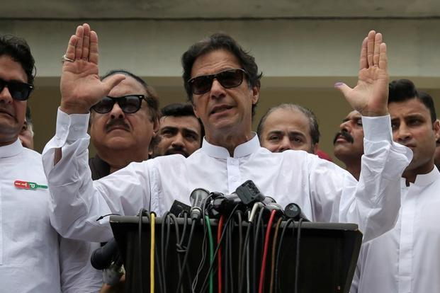 Imran Khan's Pakistan Tehreek-e-Insaaf (PTI) will likely come to power after Pakistan election results are declared, but the strings will continue to be pulled by the Pakistan army. Photo: Reuters