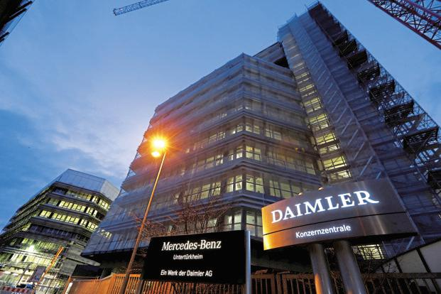 As part of the reorganisation, Daimler has struck an agreement with labour representatives that includes a pledge to secure jobs and invest in German sites. Photo: Reuters