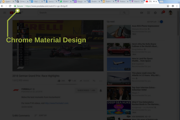 how to change the look of google chrome with its secret material