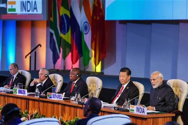 BRICS nations seek reforms at the UN, the UN Security Council and the IMF to better represent developing nations, and have asked that members of the WTO — including the US — abide by its (WTO) rules. Photo: PTI