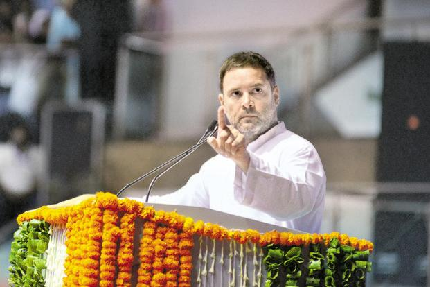 Congress president Rahul Gandhi. The Congress seems to be mimicking the BJP, not just in its social media outreach but also in the constitution of its key decision-making bodies. Photo: Ramesh Pathania/Mint