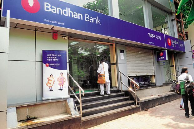 Bandhan Bank shares have gained 84% since listing on 27 March while the S&P Bankex rose 13.55% during the same period. Photo: Mint