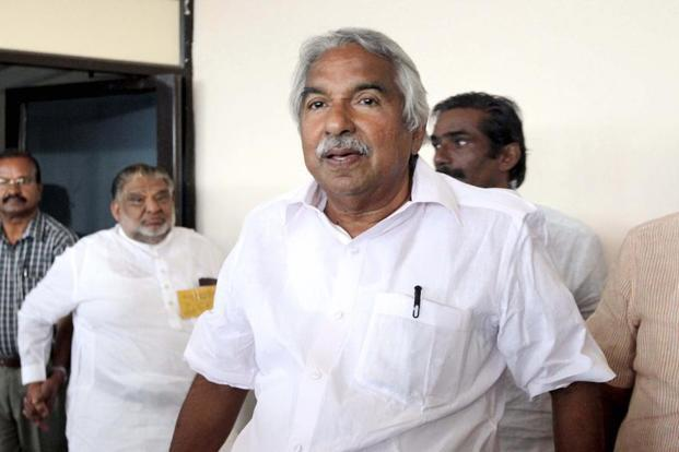 Andhra Pradesh Congress chief Oommen Chandy. Photo: HT