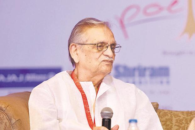 Gulzar at Bengaluru Poetry Festival, 2017.