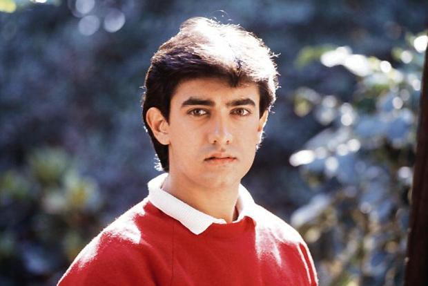 A young Aamir Khan. Photo: Getty Images