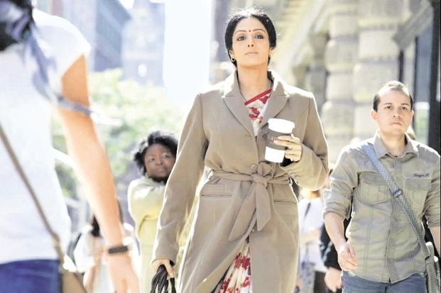 'English Vinglish', starring Sridevi, highlights a Hindi-speaking woman's struggle to learn English.