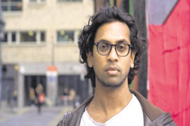 Guy Gunaratne's approach to language is shaped by the rhythmic energy of music as well as the street cadence of London slang.