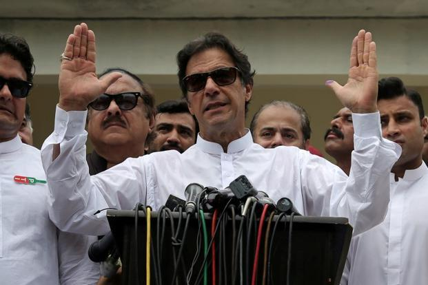 Imran Khan is set to take oath as Pakistan prime minister on 14 August, the country's independence day. Photo: Reuters