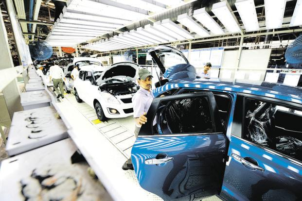 India's automobile industry is one of the most capital-intensive sectors with a big appetite for re-investment in capex and R&D at regular intervals. Photo: Ramesh Pathania/Mint
