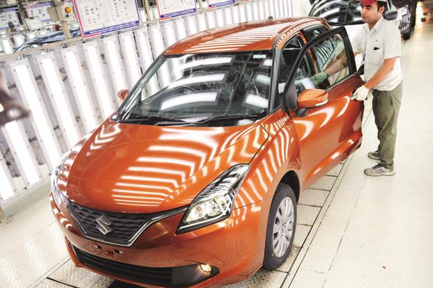 Maruti Suzuki's domestic sales were up marginally at 154,150 units last month as against 154,001 units in July last year. Photo: Ramesh Pathania/Mint