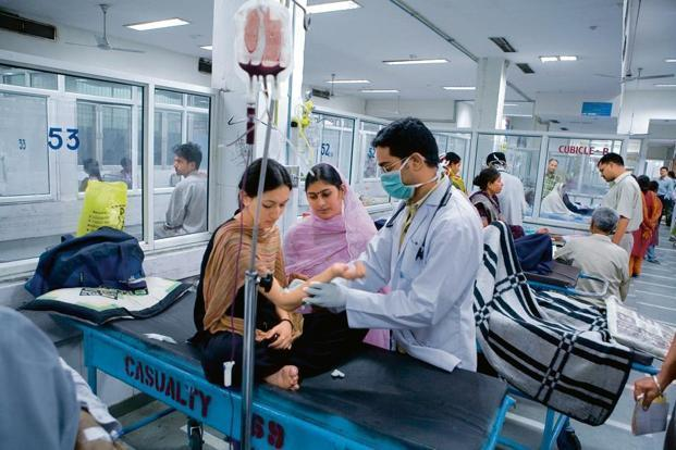A report said more than 80% of the population does not have any significant health coverage. Photo: Mint