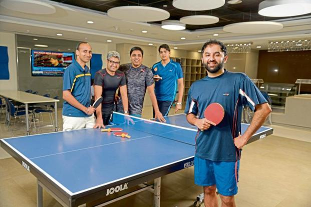 The Table Tennis Tournament Started Three Years Ago. Photo: Abhijit  Bhatlekar/Mint