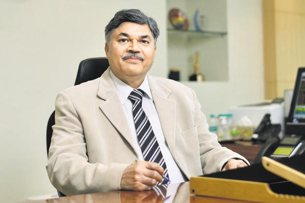 Sunil Mehta, managing director and chief executive, Punjab National Bank. Photo: Pradeep Gaur/Mint