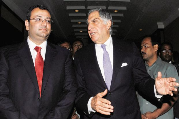 Cyrus Mistry and Ratan Tata. Photo: PTI