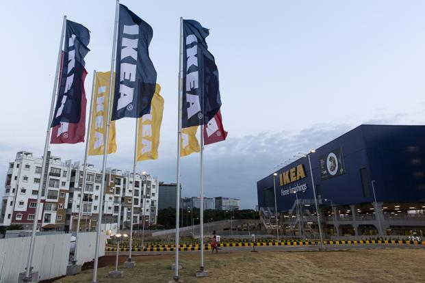 The new IKEA store in Hyderabad. Photo: AFP