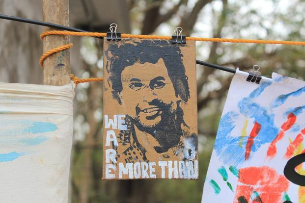 Rohith Vemula's death was the trigger for a resurgent resistance. Photo: Ambedkar Students' Association of Hyderabad Central University