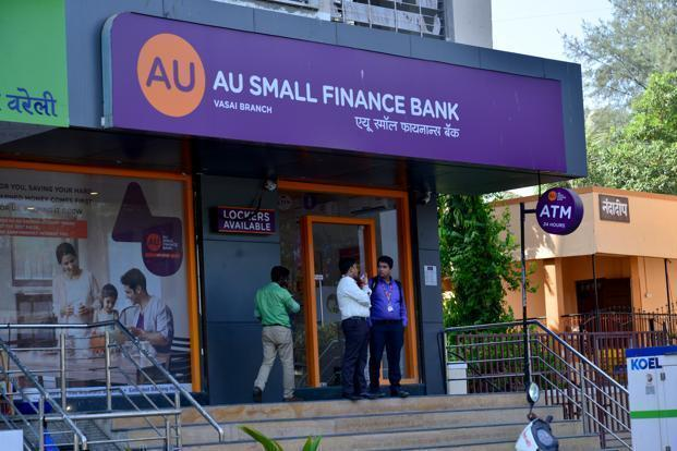 AU Small Finance Bank settled for the day on the BSE at ₹694.60, up 7.92% from the previous close