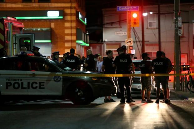 Last month, a gunman walked down a busy Toronto street, killing two people and wounding 13 before turning his gun on himself. File photo: Reuters
