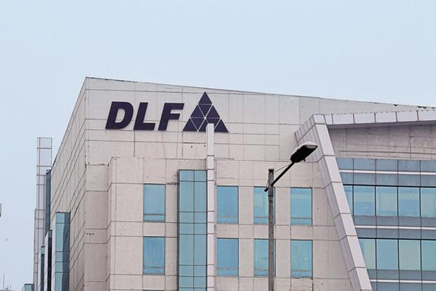 Shares or DLF Ltd fell 2.02% to close at ₹196.60, while the BSE benchmark index Sensex lost 0.41% to close at 37869.23 points.