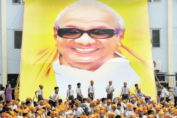 M. Karunanidhi incorporated the ideals of both Periyar E.V. Ramasamy and Annadurai, and made Tamil Nadu a welfare as well as a policy state. Photo: AFP